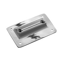 J&P Cycles® Laydown License Plate Mount Plate
