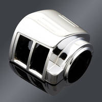 J&P Cycles Chrome Top Right Switch Housing