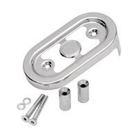 J&P Cycles® Chrome Regulator Cover