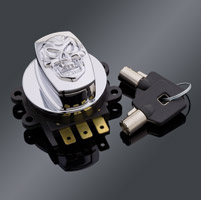 J&P Cycles® Skull Electronic Ignition Switch