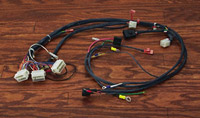 harley davidson wiring harness kits j&p cycles harley fxr bobber v twin manufacturing wiring harness builder kit