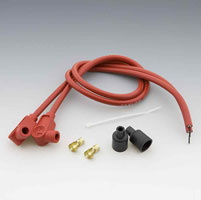 Taylor Custom Colored Red 8mm Plug Wires
