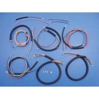 harley davidson wiring harness kits j p cycles complete wiring harness kit