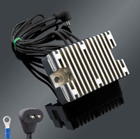Motorcycle Electric Suppliers Finned Chrome Voltage Regulator