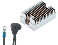 Finned Chrome Voltage Regulator