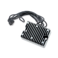 Motorcycle Electric Suppliers Finned Black Voltage Regulator