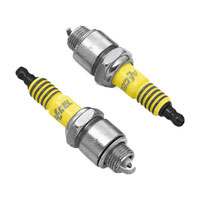 ACCEL Platinum Y2418P Spark Plug  Pair