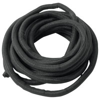 Russell black 'Wrap-it Sleeving, 1/2″ Diameter