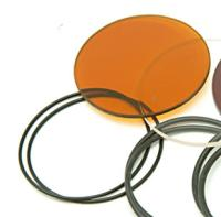 Lazer Star Replacement Amber Lens with O-ring and Gasket