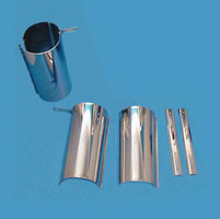 V-Twin Manufacturing Upper Fork Cover Set