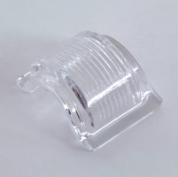 V-Twin Manufacturing Clear Rear Lens for Tombstone Taillight