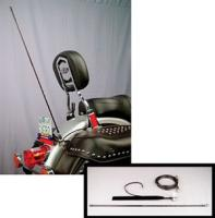 J&M License Plate Mount CB Antenna Kit