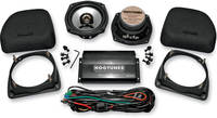 Hogtunes Amplified Fairing Lower Speaker Kit with AMP