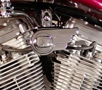 Wire Plus Billet Ignition Winged Switch Housing