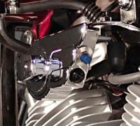 Wire Plus Billet Ignition Winged Switch Housing with Hi/Low Switches