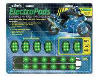 Street FX ElectroPods Complete Motorcycle Accent Lighting Kit