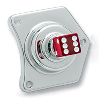 Custom Cycle Engineering Dice Solenoid Housing Switch