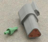 Novello Deutsch 3-Pin Receptacle  Wiring Connector