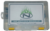 NAMZ Custom Cycle AMP Multilock Connector Builders Set