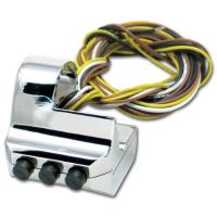 Pro-One Three Button Left Side Billet Switch Housing
