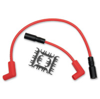 ACCEL Super Stock 8MM Ferro-Spiral Core Red Wire Set