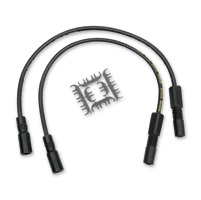 ACCEL Super Stock 8MM Ferro-Spiral Core Black Wire Set