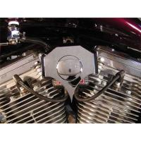 Wire Plus Chrome Coil Cover with Ignition Switch Provision