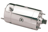Motorcycle Electric Suppliers Hitachi Type Chrome Starter Motor