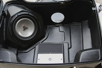 Hell's Foundry Woof Pak Subwoofer System for Tour-Pak for Newer FL