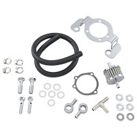 Drag Specialties Crankcase Breather/Support Bracket Kit
