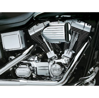 Kuryakyn Pro-Series Hypercharger with Chrome Butterflies