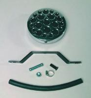 J&P Cycles® Drilled Disk Air Cleaner Assembly