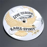 'Live to Ride Ride to Live Eagle-Spirit' Air Cleaner Insert for Big Twin Models