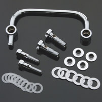 J&P Cycles® Chrome Crankcase Breather Kit