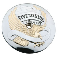 'Live to Ride' Air Cleaner Insert