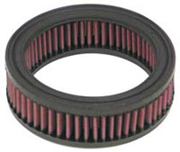 K&N High Performance Replacement Air Filter for Round Air Cleaners