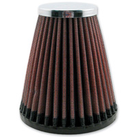 Replacement K&N air filter for D&M Custom Cycle Bullet Air Cleaner Assembly