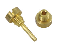 Float Pivot Pin with Caps