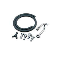 Kuryakyn Bluegrass Crankcase Breather Kit for models w/  Mikuni HSR Carbs