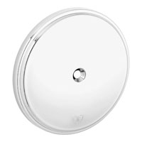 Arlen Ness Stage I Smooth Billet Air Cleaner Cover, Chrome