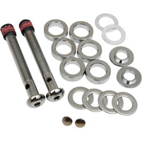 Chrome Cut-To-Lenght Breather Bolt Kit