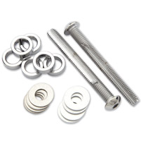 Chrome Breather Bolt Kit