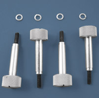 V-Twin Manufacturing Quick Change Float Bowl Screws