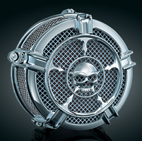 Kuryakyn Hi-Five Mach 2 Zombie Air Cleaner for Twin Cam CV carb or Delphi