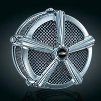 Kuryakyn Mach 2 Chrome Air Cleaner Kit