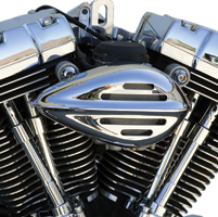 Paughco Ribbed with Slots Teardrop Air Cleaner for Tillotson Carbs