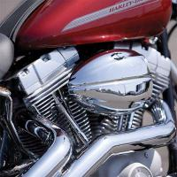 Vance & Hines VO2 Intake Kit Chrome Drak Cover