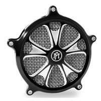 Performance Machine Gatlin Faceplate for SuperGas Air Cleaner Chrome