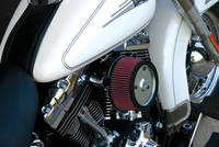 Zipper's Performance Products Chrome MaxFlow Air Cleaner