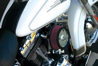 Zipper's Performance Products Chrome HiFlow Air Cleaner